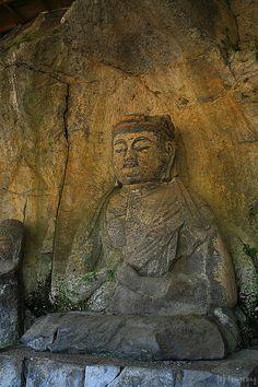 Usuki Stone Buddha #japan #oita