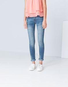 Bershka Ukraine - Bershka 5 pocket skinny jeans