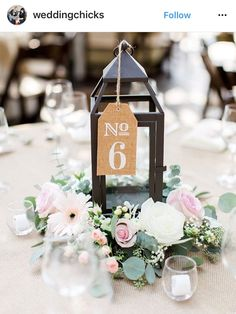Wedding Wednesday: Vintage Table Number DIY | Customer Creations ...