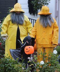 Sandra Bullock And Melissa McCarthy Dress As Fishermen For Halloween