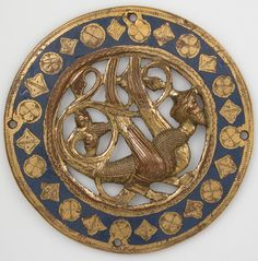 Medallion Date: before 1227 Geography: Made in Limoges, France Culture: French Medium: Copper, champlevé enamel The Metropolitan Museum of Art.