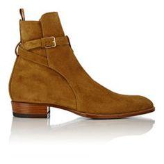 hedi jodhpur boots, saint laurent