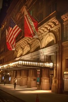 Carnegie Hall- at 7th Ave & 57th is my second favourite music venue after the Wigmore hall in London. I've been to so many concerts and recitals there including a complete Barenboim Beethoven sonata cycle.