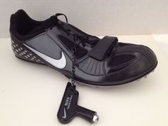 Nike Zoom Rival S Sneakers Mens Shoes Size 11 Black with Wrench No Cleats #Nike #Cleats
