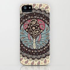 Butterfly Mandala by Paula Belle Flores $35.00 #iphone6 #iphonecases
