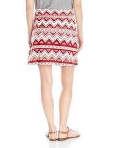 KAVU Womens Standard South Beach Skirt Small Navy