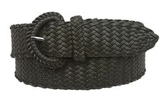 Ladies Braided Woven Belt Size: M/L - 36 Color: Olive Made by #beltiscool Color #Olive