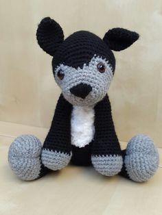 Husky in black