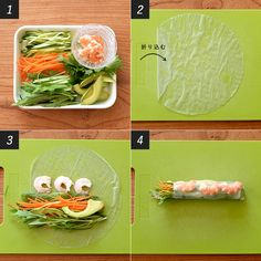 Clean Recipes, Cooking Recipes, Healthy Recipes, Rice Rolls, Diy Home Decor Projects, Mason Jar Diy, Bento Box, Sushi, Food And Drink