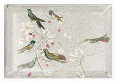 Medium Hummingbirds Tray
