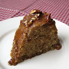 Praline Zucchini Bundt....Quick & Easy uses a Butter Pecan Cake Mix by Betty Crocker!!!!