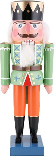 This traditional nutcracker is an authentic item from the German Ore mountains. It is designed like a typical king. Christmas Time, Christmas Crafts, Merry Christmas, Christmas Decorations, Xmas, Christmas Stuff, Christmas Ideas, Nutcracker Characters, Christmas Soldiers