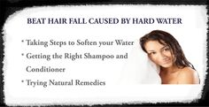 #TipOfTheDay: BEAT #HAIR FALL CAUSED BY HARD #WATER. #EgoWellness #Bangalore