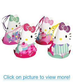 Meri Meri Hello Kitty Party Hats (Set of 8) #Meri #Hello #Kitty #Party #Hats #Set