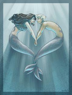 ✯ Mermaid Looove .. By ~Kecky ✯