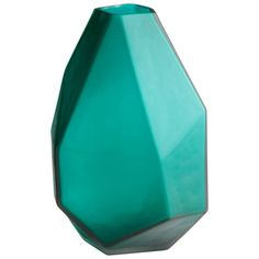 Cyan Design Medium Bronson Vase Bronson 11 Inch Tall Glass Vase Green Home Decor Accents Vases