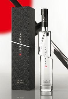 Samurai Package Design Inspiration