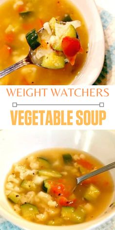 This easy weight watcher friendly soup is not only delicious it is zero frestyle ww points. Made with fres vegetables and ready in less than 30 minutes. Vegetable Soup Recipes, Healthy Soup Recipes, Ww Recipes, Side Dish Recipes, Dinner Recipes, Lasagna Recipes, Ramen Recipes, Chickpea Recipes, Lentil Recipes