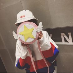 Mori Clothing Shoulder Bag on Mori Girl の森ガール.Cardcaptor Sakura Star Round Shoulder Bag Cartoon Wallet Mg332 Wearing it out will be a eye-catching focus in the street .It perfect for most of occasions.Make sure you add these to your closet,it is a must have.