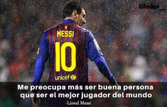 123 Frases de Fútbol Motivadoras de los Mejores de la Historia - Lifeder Lionel Messi, Messi Gif, Football, Sports, Thor, Tumblr, Ideas, Gamer Quotes, Inspirational Football Quotes