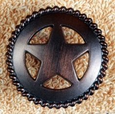 Awesome Western Knobs Star Hardware Cabinet Knob Pulls Texas Western Gifts CP212ORB