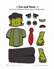 Cut and Paste Frankenstein