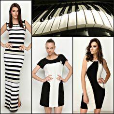 """Piyano tuşlarını andıran monokrom elbiseleri biz çok sevdik. Stilinize en uygun olanı seçmek için """"Sadece Elbise"""" kampanyamıza göz atabilirsiniz ;) ◼️◻️◾️◽️ #stil #elbise #markafoni #piano #black #white #monochrome #dress"""