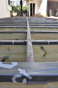 3 Tips for Building an Enduring Deck Since most decks are made of wood, we can of course expect them to rot ... eventually. The average deck, composed of treated lumber joists, beams and posts, will last somewhere between 15-25 years depending on the climate zone it is in and how much water it is tormented by, not to mention how it is built. In many cases it is not the deck boards that rot, but rather the treated lumber framing which is susceptible. There are however some fairly simple ways…