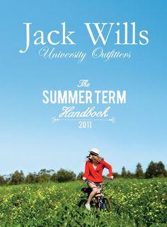 #JackWills Summer Term Handbook 2011