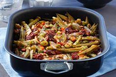 Μπάμιες φουρνιστές - Συνταγές | γαστρονόμος