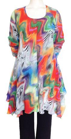Sixteen47: Waves Georgette  Fully Lined Handkerchief Dress  #plussize #plus-size #fashion #plus #size #dawnfrench #plussizefashion #plussizestyle #curvyfashion #curvy #fashionforwardplus #plussizefashion #plussizeblogger #psstyle #psfashion #fullfigured
