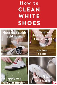 When your go-to shoes start looking worn-out. Boost your look with a clean makeover on your favorite white sneakers.