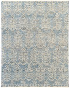 Luke Irwin S Giovanna rug - persian hand knotted wool and silk, Tarantella Collection