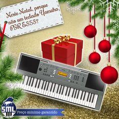 Neste Natal ofereça música! Pode comprar este teclado Yamaha aqui:  http://www.salaomusical.com/pt/teclados/1214-teclado-portatil-yamaha-psr-e353-61-teclas-com-alimentador.html