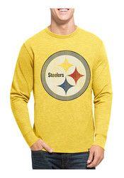 '47 Pitt Steelers Mens Black LS Scrum Tee Fashion Tee