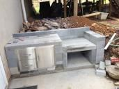 New XL Egg and Concrete Block table - Big Green Egg - EGGhead Forum - The Ultimate Cooking Experience...