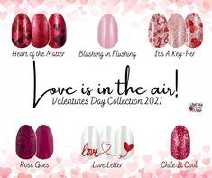 Color Street launched their Valentine's collection yesterday are stunning. Red, pink, white... so many beautiful options. #colorstreet #nails #valentine #valentinesnails Swag Nails, Fun Nails, Pretty Nails, Dry Nail Polish, Nail Polish Strips, Glitter French Manicure, Glitter Nails, Sassy Nails, Clear Nails