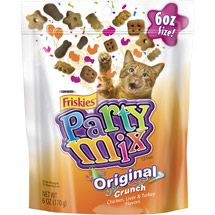 6 OZ g) Each - Pack of 2 Party Mix Recipe, Purina Friskies, Mixed Grill, Canned Cat Food, Cat Treats, Whole Food Recipes, Salmon, Beef, Snacks