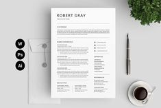 Resume/CV by Designs Bird on Best Resume Format, Best Resume Template, Cv Template, Cover Letter For Resume, Cover Letter Template, Letter Templates, Design Templates, Resume Tips, Resume Cv