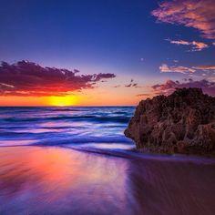 Sunset near #Perth Western #Australia    Photo by seeaustralia