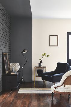 Monochrome perfection with Little Greene's Scree