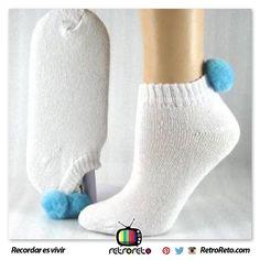¿Dónde están las chicas que usaron estas medias? RetroReto.com