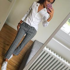 clothes for women,womens clothing,womens fashion,womans clothes outfits Casual Work Outfits, Business Casual Outfits, Mode Outfits, Office Outfits, Work Attire, Work Casual, Casual Chic, Fall Outfits, Fashion Outfits
