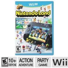 Nintendo: Nintendo Land 3379479 Wii U Game - ESRB E10 , Action/Adventure at TigerDirect.com
