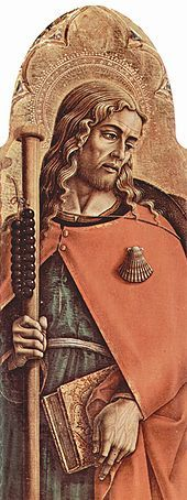 Scallop Shell on St James, portrait by Carlo Crivelli (c. 1480)- Wikipedia, the free encyclopedia