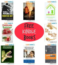 17 FREE Kindle Books: Raising a Modern Frontier Boy, Snakes, Your Home Cheerful, & More!