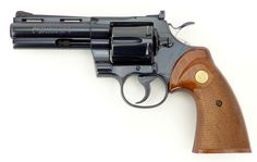 Colt Python .357 Mag caliber revolver. 4inch Find our speedloader now!  http://www.amazon.com/shops/raeind