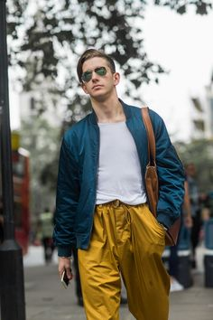 See the best men's street style looks captured at London Menswear Collections S/S 2017.
