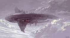 The Icarus (Ransom's warship. It doesn't look too menacing, but it has a lot of secrets.)