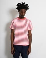 Armor Lux - Striped Heritage T-Shirt Pink We Carry On, Country Names, All Brands, Logo Branding, Pink, Mens Tops, T Shirt, Models, Art